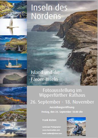 Fotoausstellung im Rathaus - Inseln des Nordens