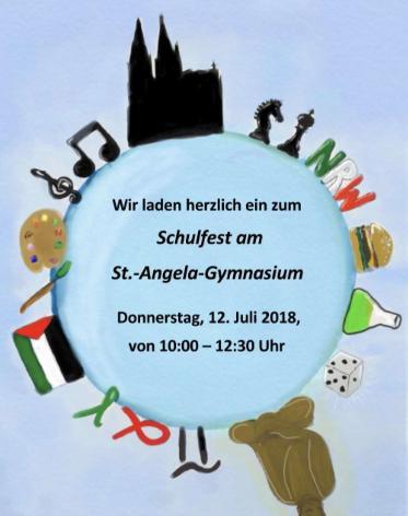 Schulfest am Sankt Angela Gymnasium